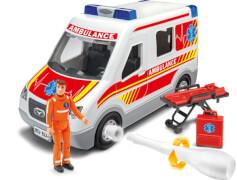 REVELL Rettungswagen mit Figur 1:20
