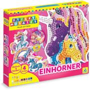 Sticky Mosaics: Unicorns
