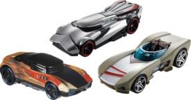 Mattel FYT17 Hot Wheels Star Wars Episode 9 Character Car sortiert