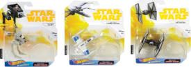 Mattel FYT65 Hot Wheels Star Wars Episode 9 Starship sortiert