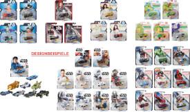 Mattel GJH91 Hot Wheels Studio Character Car sortiert