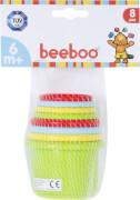 Beeboo Baby Baby Stapelpyramide, 8-teilig