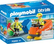 PLAYMOBIL 70203 Kehrmaschine