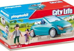 PLAYMOBIL 70285 Papa und Kind mit Cabrio