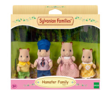 Sylvanian Families 3584 Hamster Familie