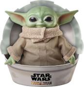 Mattel GWD85 Roulette Star Wars Mandalorian The Child Baby Yoda Plüsch Figur (28 cm)