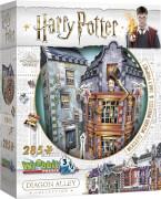Puzzle 3D Harry Potter Weasleys zauberhafte Zauberscherze  & Der Tagesprophet 285 Teile