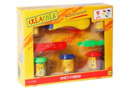 Creathek Knetwerk inklusive 250 g Knete