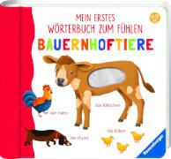 Ravensburger 015627 Mein erstes Wörterbuch zum Fühlen: Bauernhoftiere