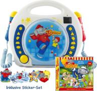 Benjamin Blümchen Karaoke CD/MP3 Player + Hörspiel-CD