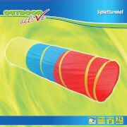 Outdoor active Spieltunnel in 3 Farben, # 47 x Länge 180 cm, ca. 49,5x49,5x3 cm, ab 24 Monaten