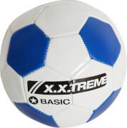 XXtreme Fußball, Größe 2, weiß/blau, PVC, unaufgeblasen