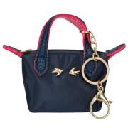Depesche 10098 Trend LOVE Anhänger Miniatur Tasche dunkelblau