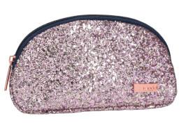 Depesche 10180 TOPModel Kosmetiktasche Glitzer rosa