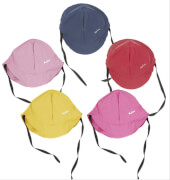 Playshoes Regenmütze mit Baumwollfutter, pink, Gr. 49